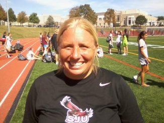 Saint Joseph's Coach Jess Mannella